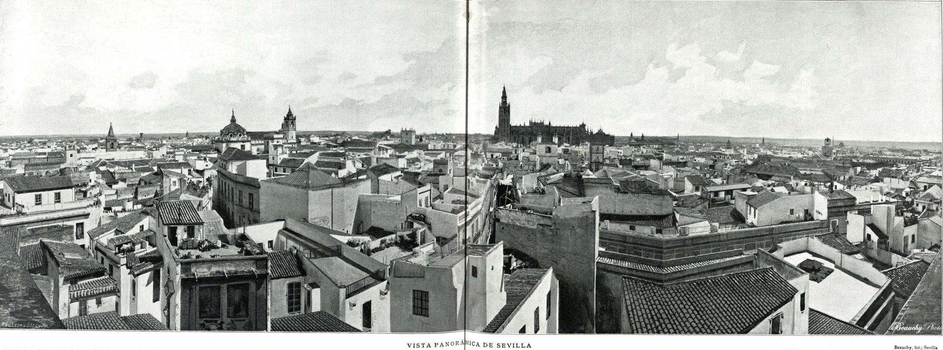 Vista general de Sevilla
