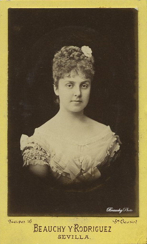 La Reina María de las Mercedes de Orleans