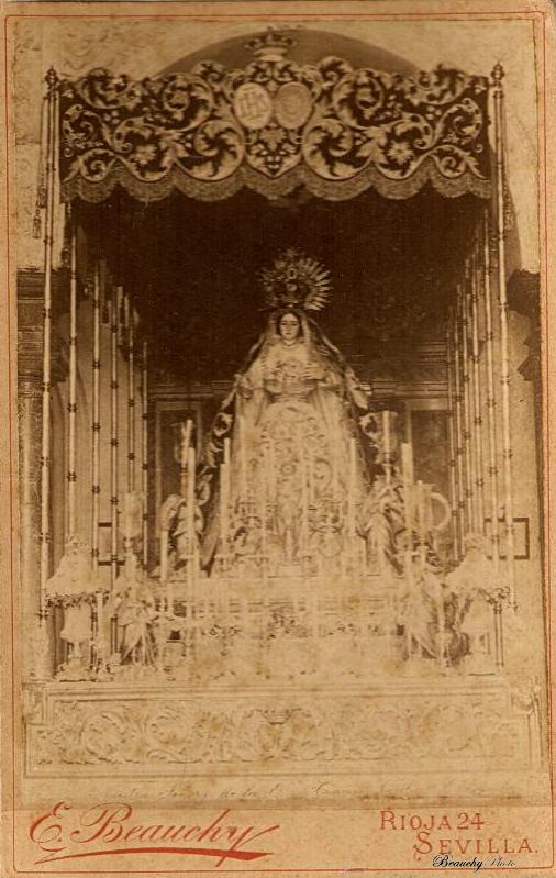 Beauchyphoto_Nuestra_Señora_de_la_O_Emilio_Beauchy_Cano_fotografias_antiguas_postales_semana_santa