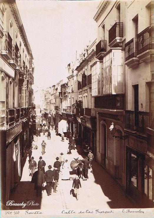 La Calle de las Sierpes de Sevilla