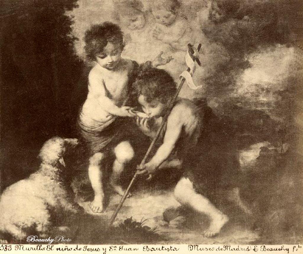Seis cuadros del pintor Murillo