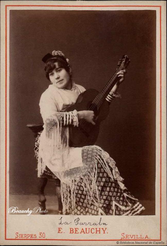 La Parrala, cantaora