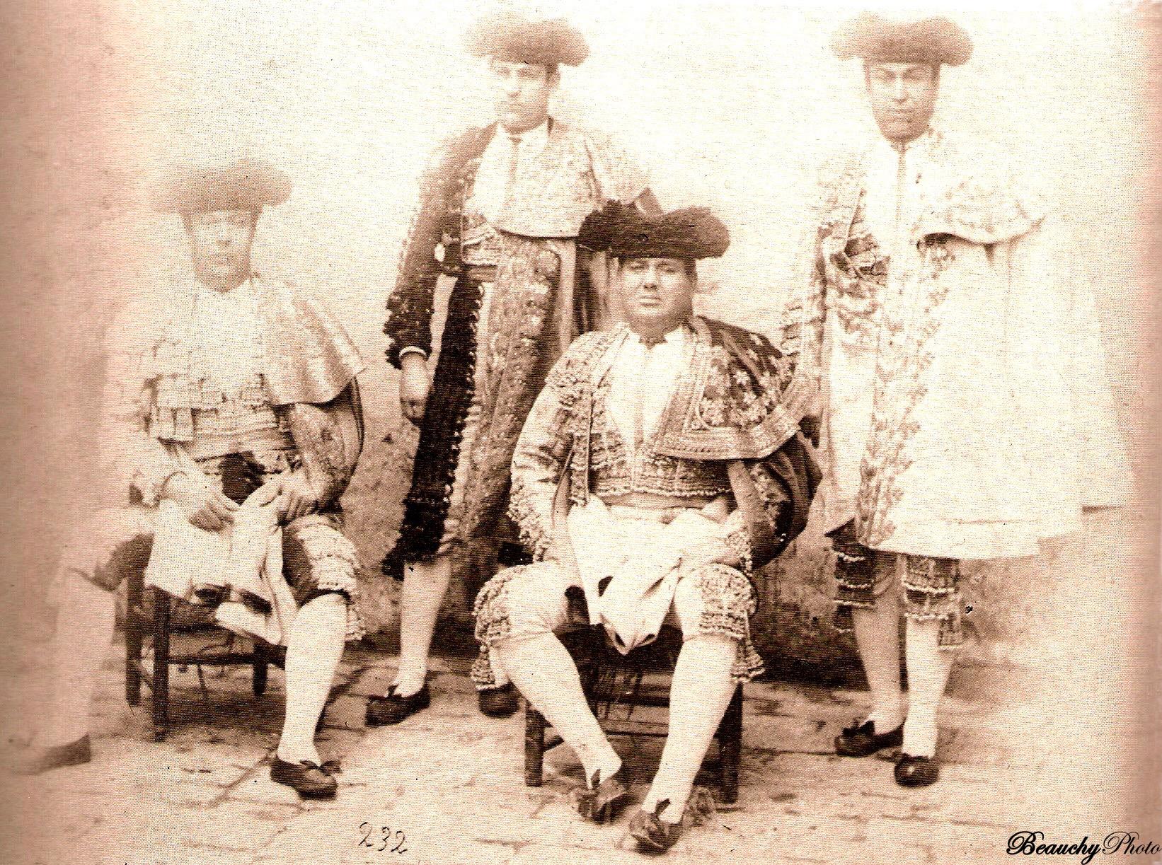 Currito, Cuatro dedos, El Gordito y El Gallo