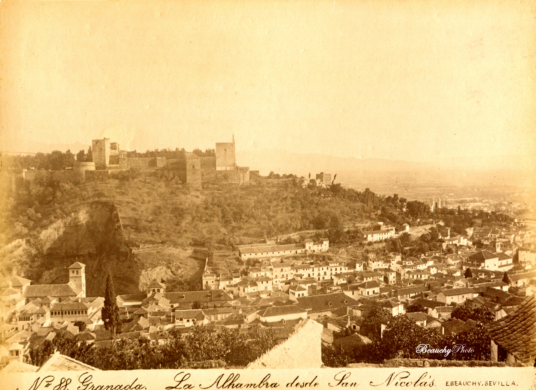 beauchyphoto_la_alhambra_desde_san_nicolas_granada_emilio_beauchy_cano_fotografias_antiguas_postales_vistas_y_monumentos
