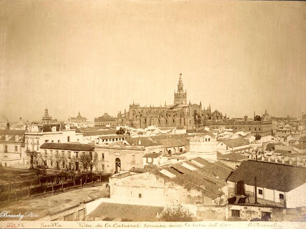 Vista de la Catedral de Sevilla