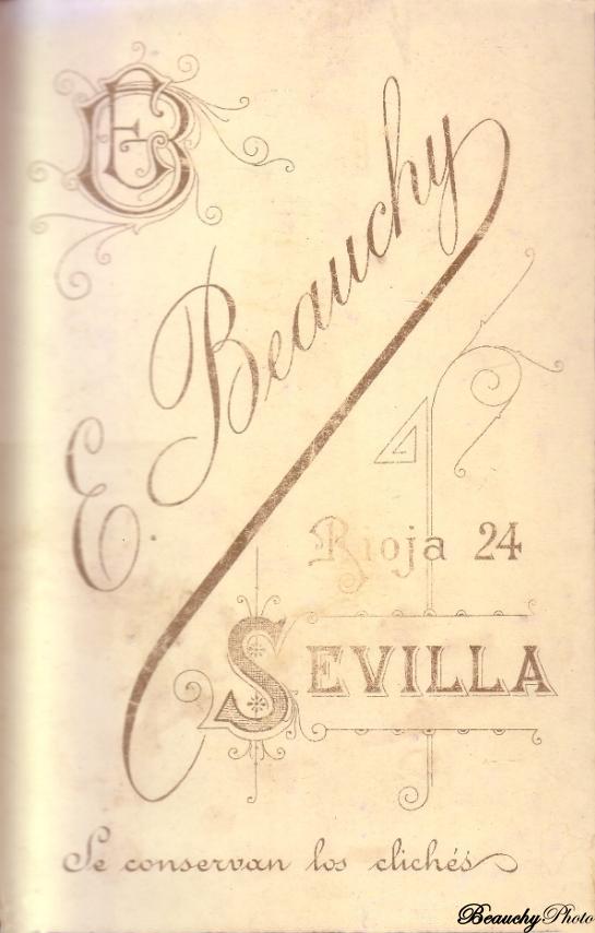 Beauchyphoto_Reverso_Mujer_con_niños_Emilio_Beauchy_Cano_fotografias_antiguas_postales_retratos