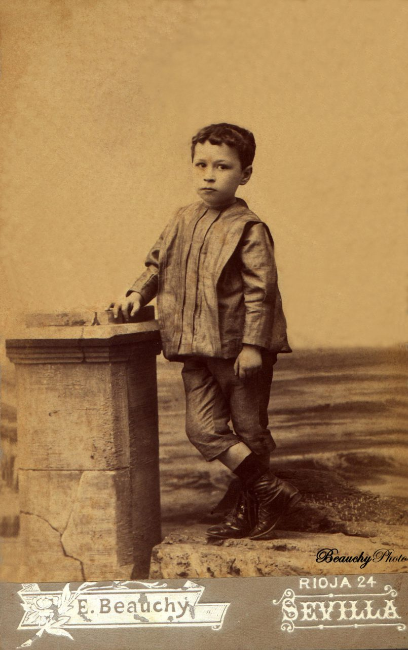 Retratos de niños desconocidos (EBC)