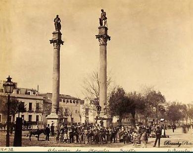 Beauchyphoto_La_Alameda_de_Hércules_2_Sevilla_Emilio_Beauchy_Cano_fotografias_antiguas_postales_vistas_y_monumentos