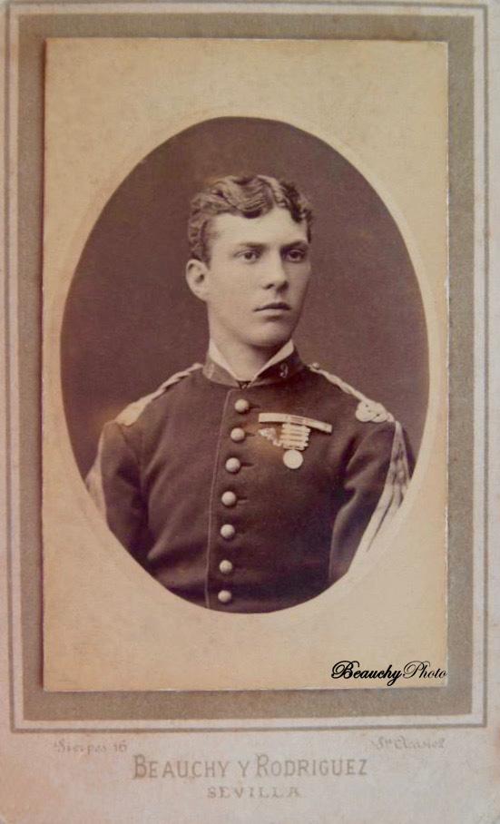 Retrato de un oficial condecorado en la Guerra Carlista