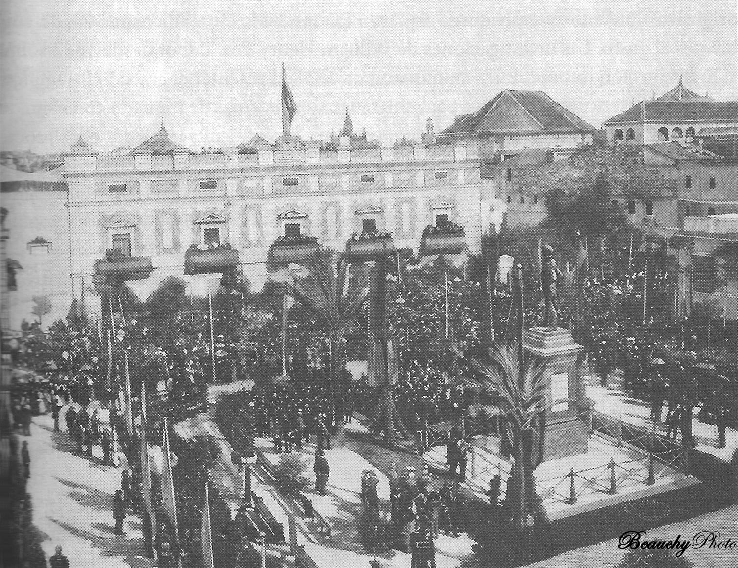 Inauguración del Monumento a Daóiz