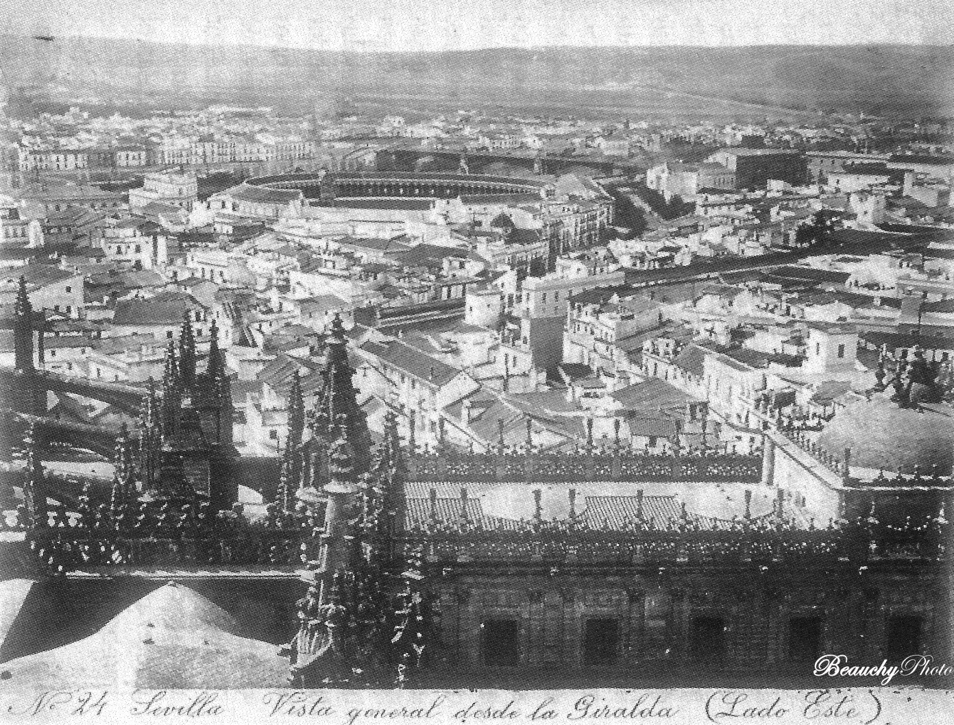Vista general de Sevilla