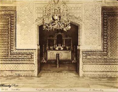 Beauchyphoto_Capilla_de_la_Casa_de_Pilato_Emilio_Beauchy_Cano_fotografias_antiguas_postales_vistas_y_monumentos