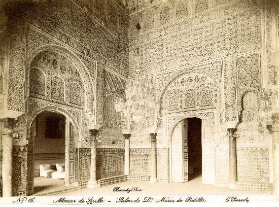 Salón de Doña María de Padilla del Alcázar de Sevilla