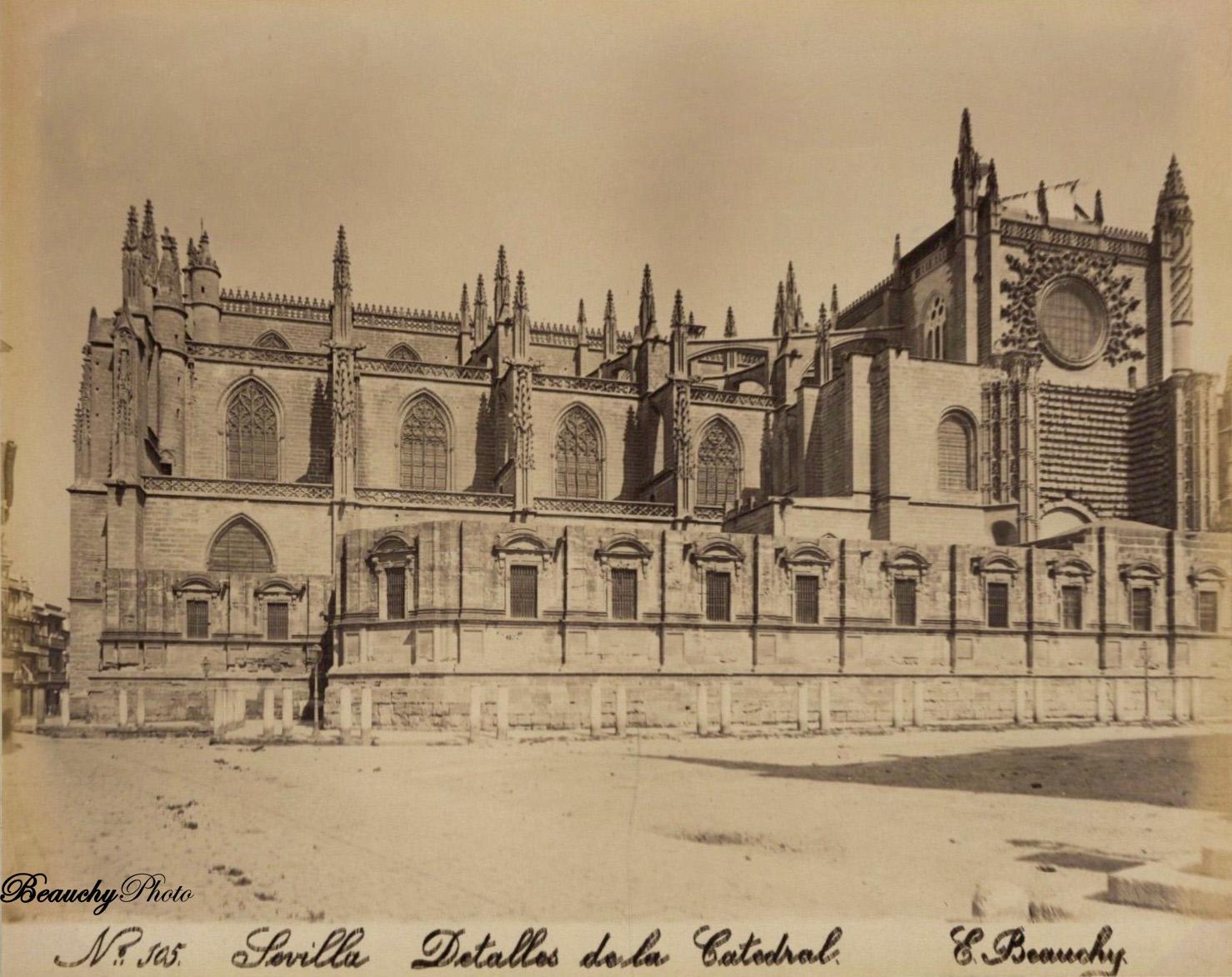 Beauchyphoto_Detalles_de_la_Catedral_Sevilla_Emilio_Beauchy_Cano_fotografias_antiguas_postales_vistas_y_monumentos