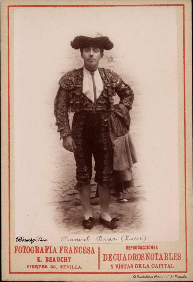 Torero Manuel Díaz 'Lavi'