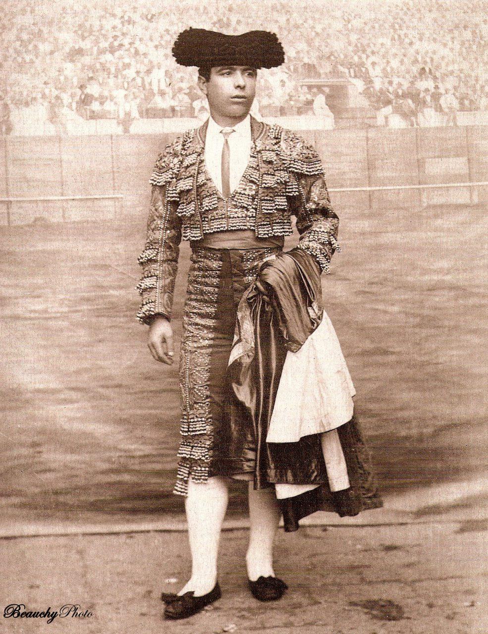 Torero José Roger y Durán Valencia 1890
