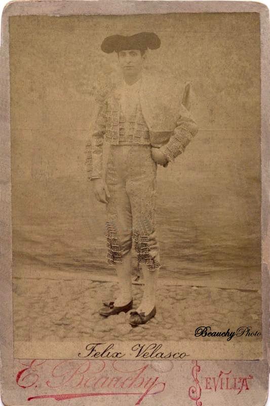 Torero Félix Velasco