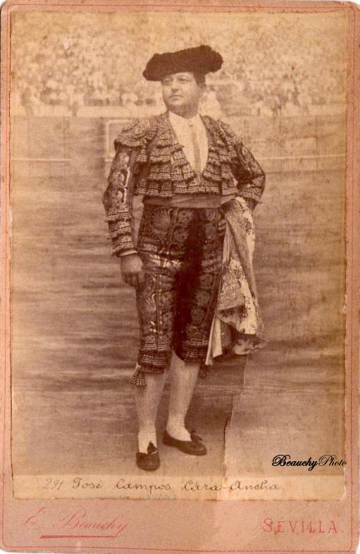 Torero José Campos 'Cara ancha'
