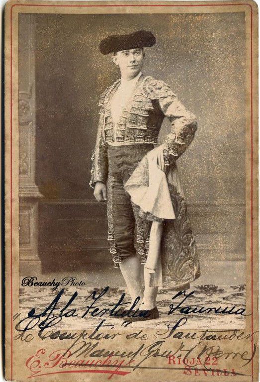 Torero Manuel González 'Rerre'