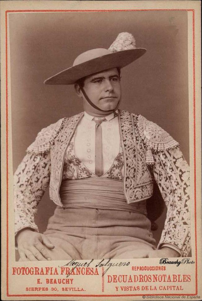 Picador de toros Miguel Salguero