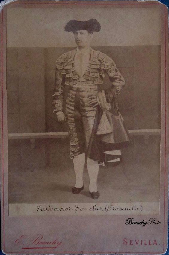 Torero Salvador Sánchez 'Frascuelo'