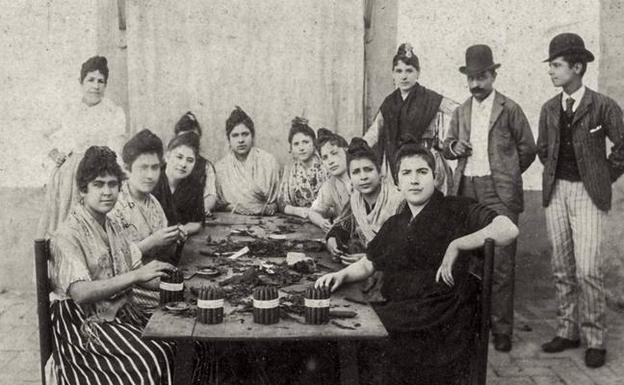 Cigarreras, 1880-1890