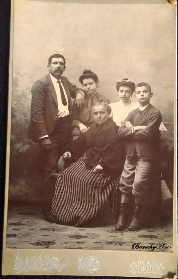 Grupo Familiar Antepasados Patricia Roxana
