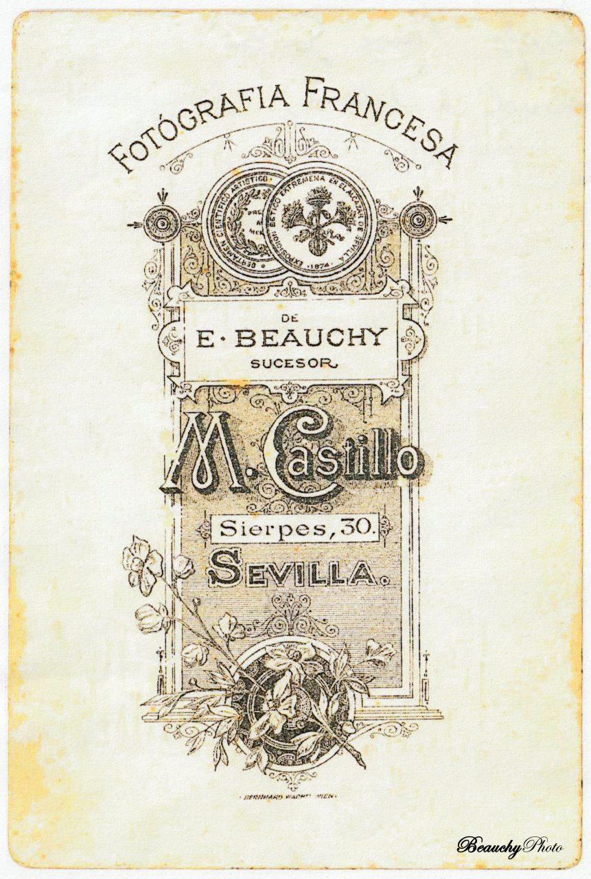Beauchyphoto_Josefa_Mena_Garcia_reverso_Emilio_Beauchy_Cano_fotografias_antiguas_postales_retratos