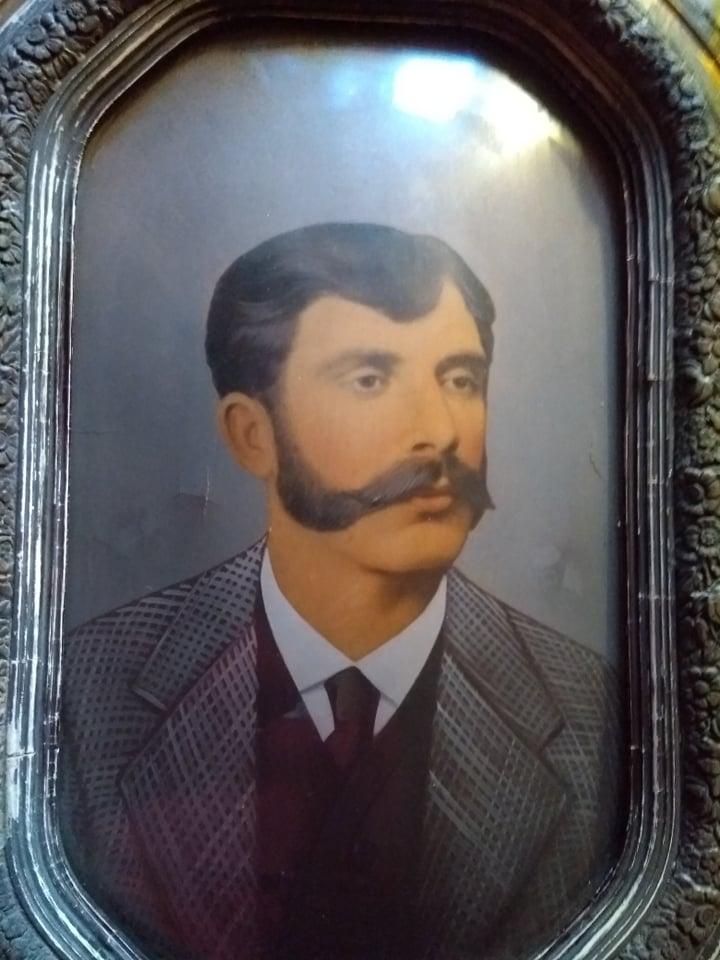 Rafael Anzón y familiares