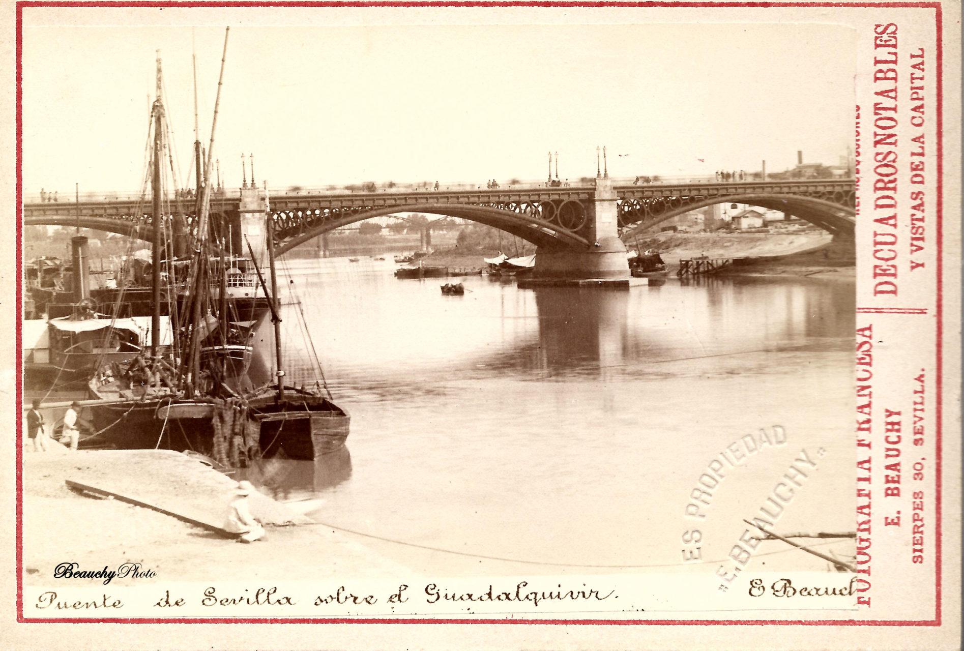 Beauchyphoto_Puente_Isabel_II_Emilio_Beauchy_Cano_fotografias_antiguas_postales_vistas_y_monumentos