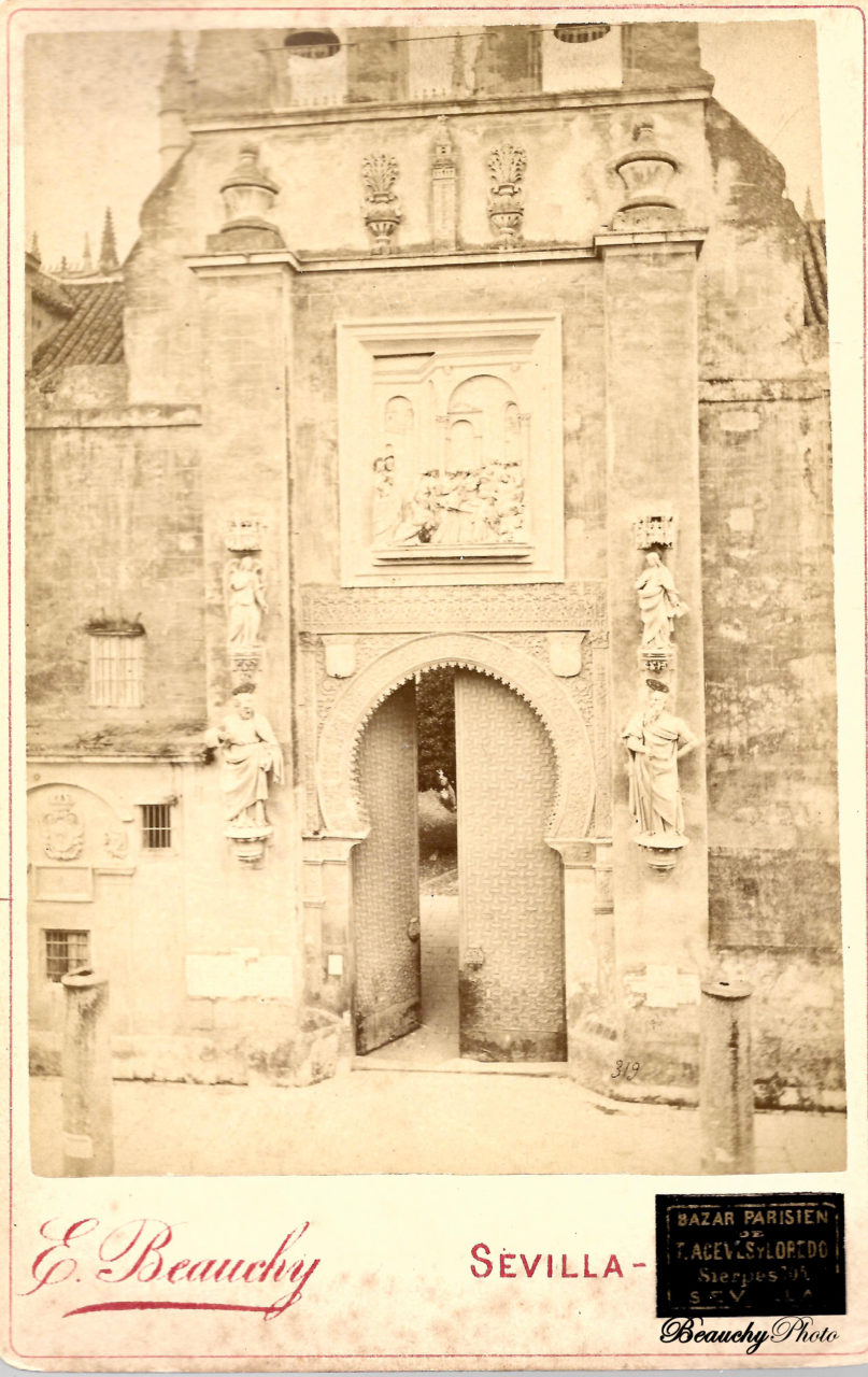 Beauchyphoto_Puerta_del_Perdon_Emilio_Beauchy_Cano_fotografias_antiguas_postales_vistas_y_monumentos