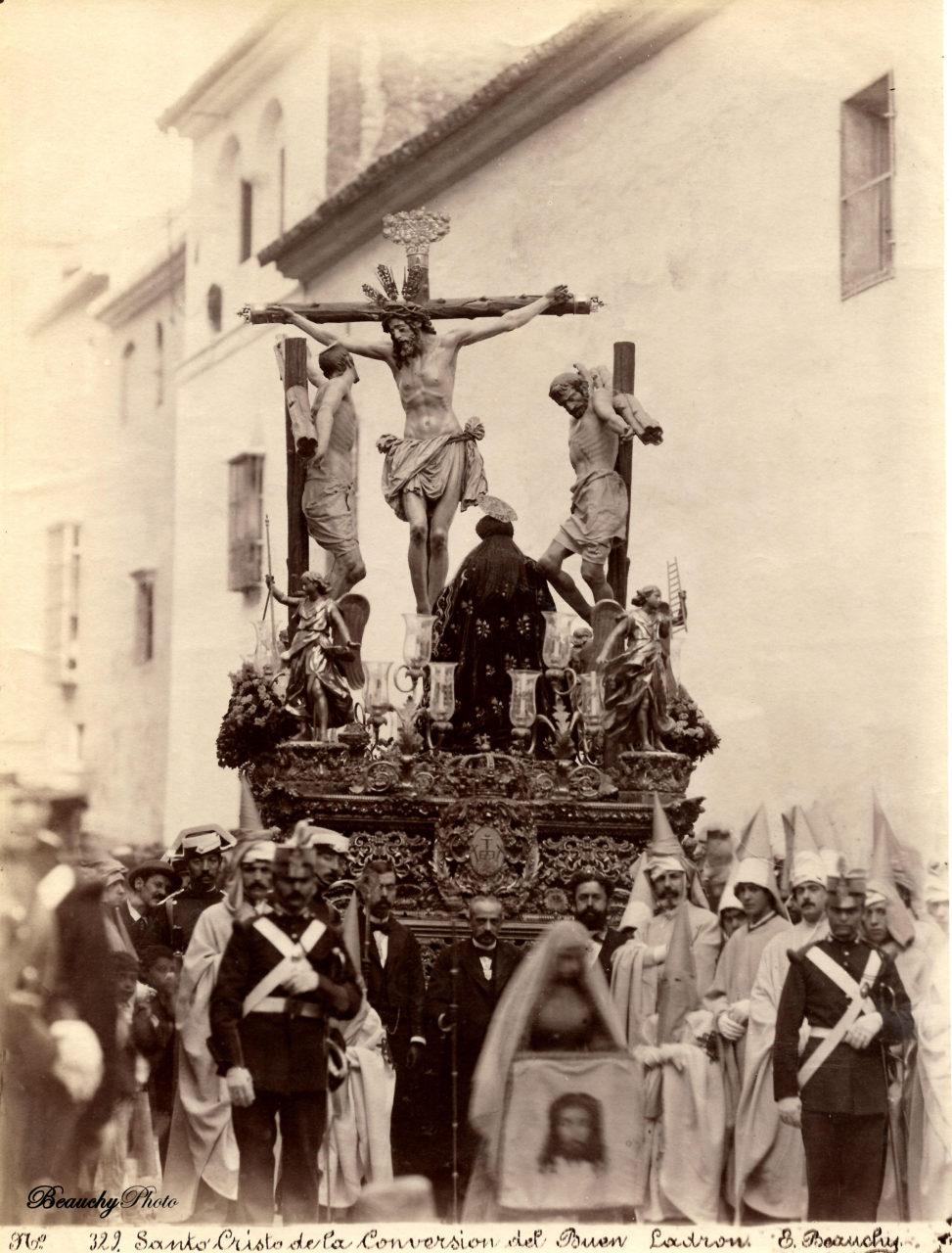 Cristo de la Conversión del Buen Ladrón y Virgen de Montserrat