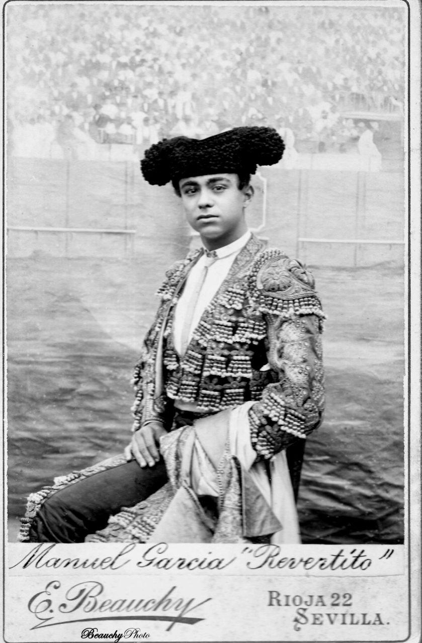 Torero Manuel García 'Revertito'