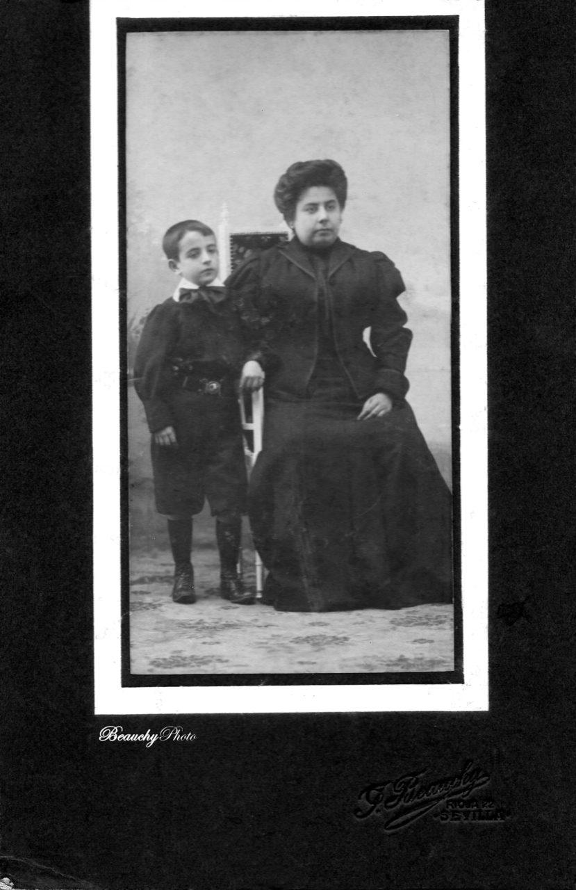 Retrato de señora con niño (JBG)