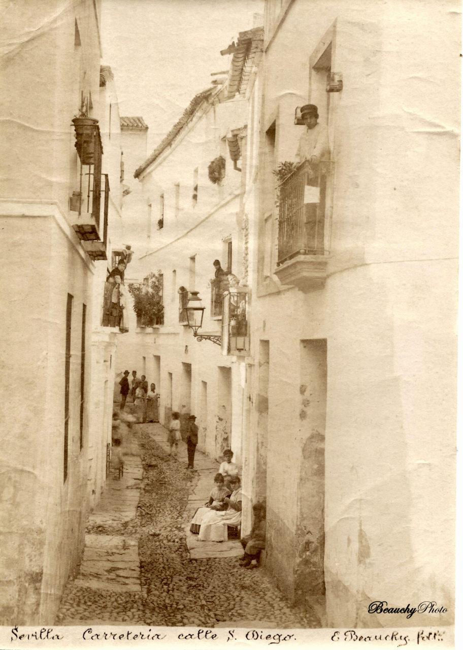 Beauchyphoto_Calle_San_Diego_en_la_Carreteía_Emilio_Beauchy_Cano_fotografias_antiguas_postales_vistas_y_monumentos