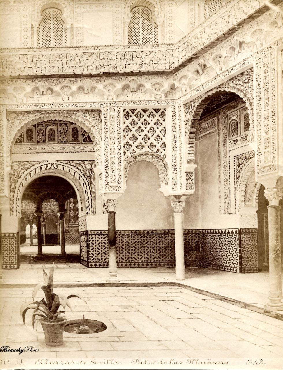 Patio de las Muñecas del Alcázar de Sevilla