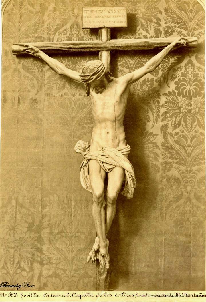 Cristo de la Capilla de los Cálices de la Catedral de Sevilla