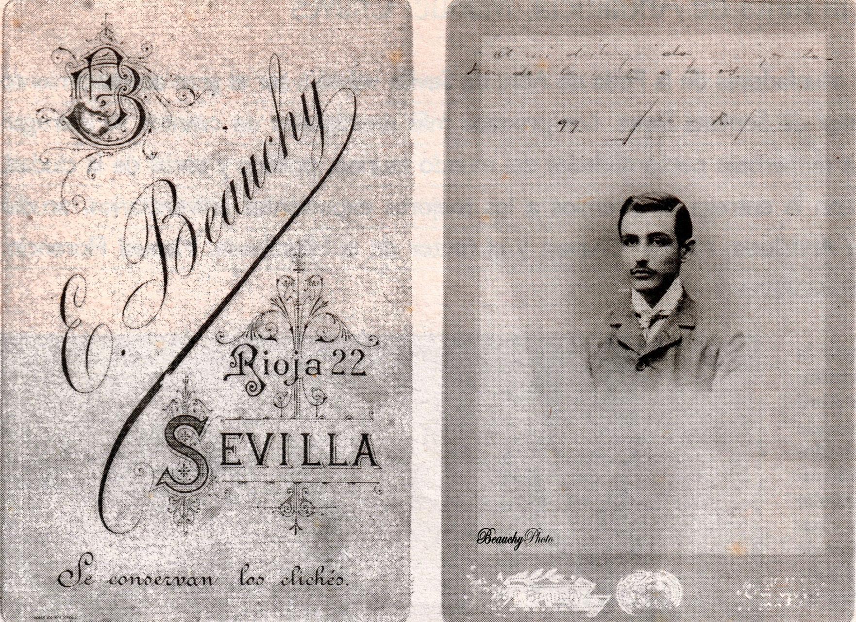 Fotografía y su reverso de Juan Ramón Jimenez
