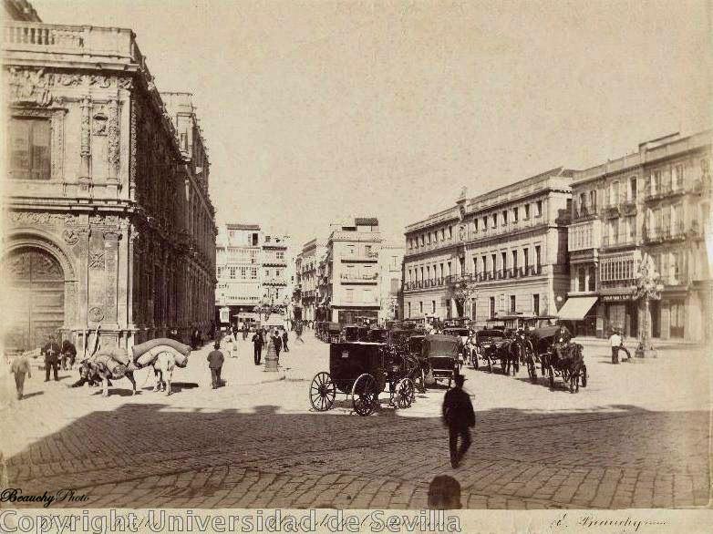 Beauchyphoto_Plaza_de_la_Constitución_1890_Emilio_Beauchy_Cano_fotografias_antiguas_postales_vistas_y_monumentos