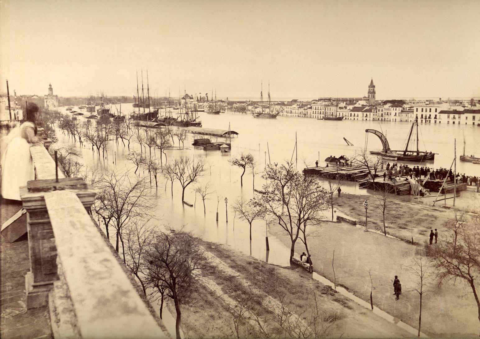 Desbordamiento del río Guadalquivir
