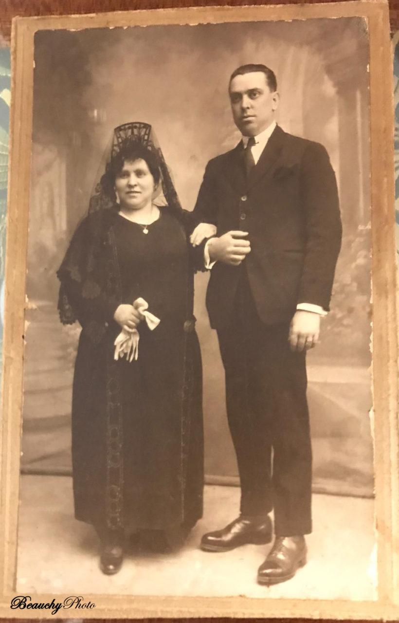 Retratos de matrimonios desconocidos (JBG)