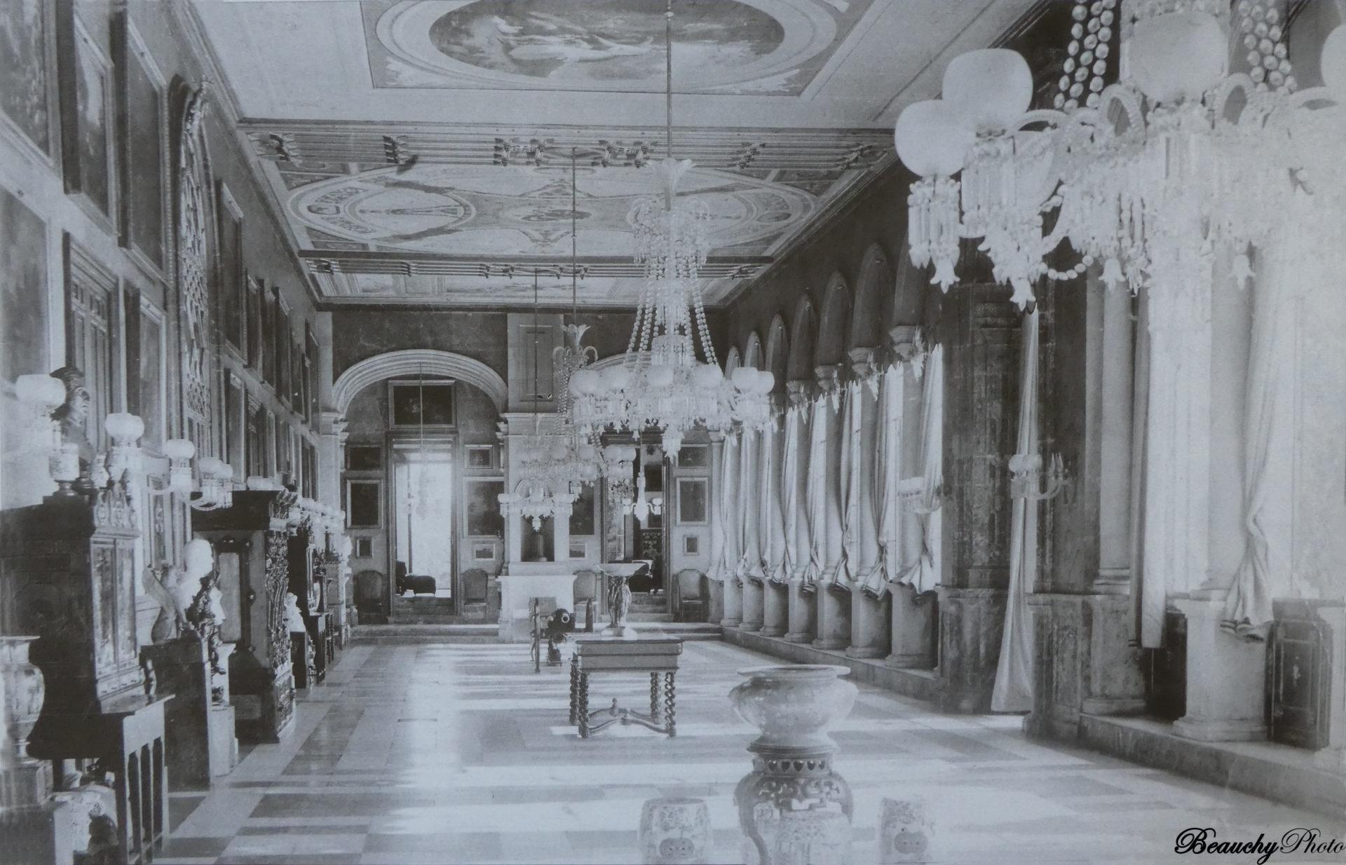 Beauchyphoto_Salón_de_las_Columnas_Palacio_de_San_Telmo_Emilio_Beauchy_Cano_fotografias_antiguas_postales_vistas_y_monumentos