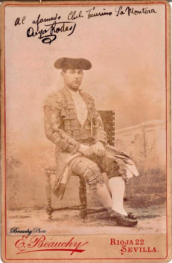 Torero Diego Rodas