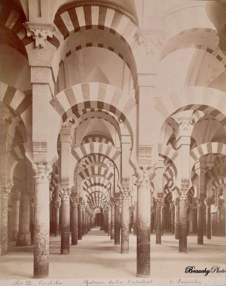 Beauchyphoto_Interior_de_la_Catedral_Córdoba_Nº12_Emilio_Beauchy_Cano_fotografias_antiguas_postales_vistas_y_monumentos