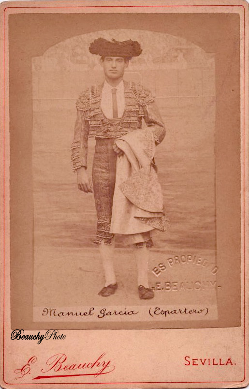 Torero Manuel García 'Espartero'