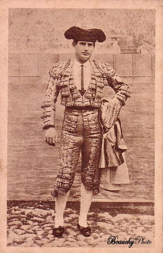 Torero Manuel García El Espartero