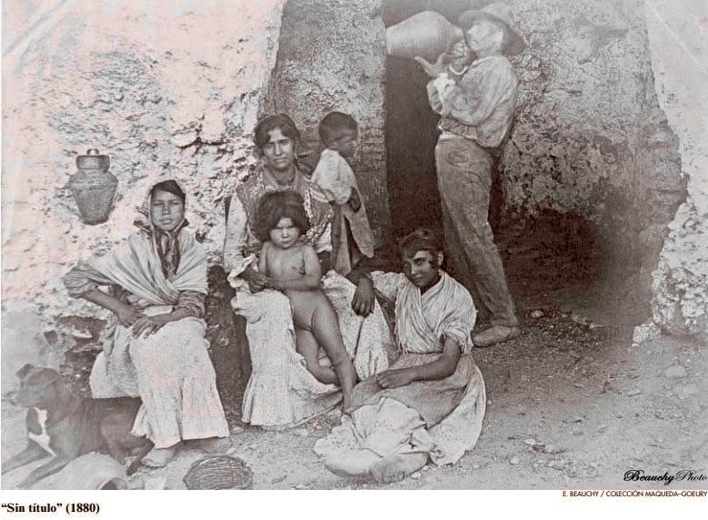 Retrato de Familia Gitana