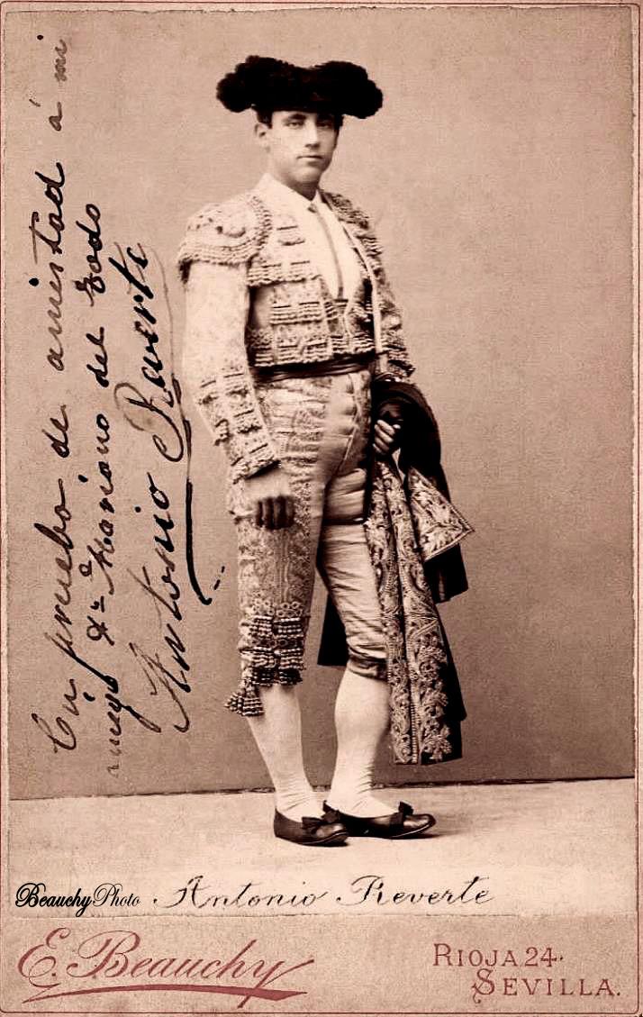 Torero Antonio Reverte Jiménez