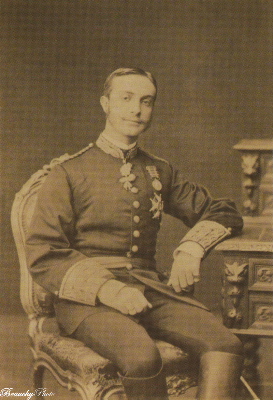 El rey Alfonso XII